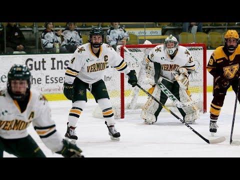 Women's Hockey: Windjammer Classic - Vermont vs. #2 Minnesota (11/24/18)