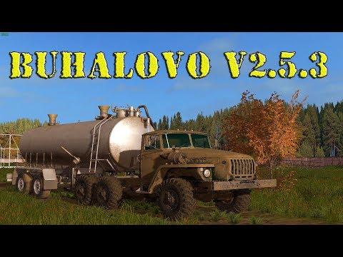 18+●Карта Buhalovo V2.5.3●Farming Simulator 17●Осень-Зима