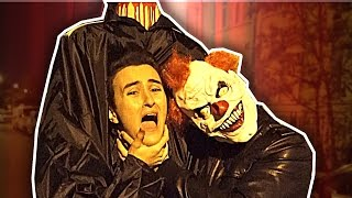 SONNER CHEZ LES GENS POUR DEMANDER DES BONBONS (Halloween)