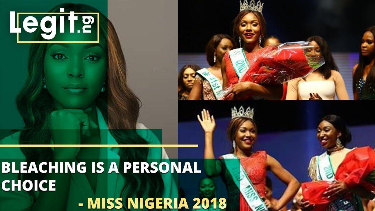 Bleaching is a personal choice - Miss Nigeria Chidinma Aaron | Legit TV
