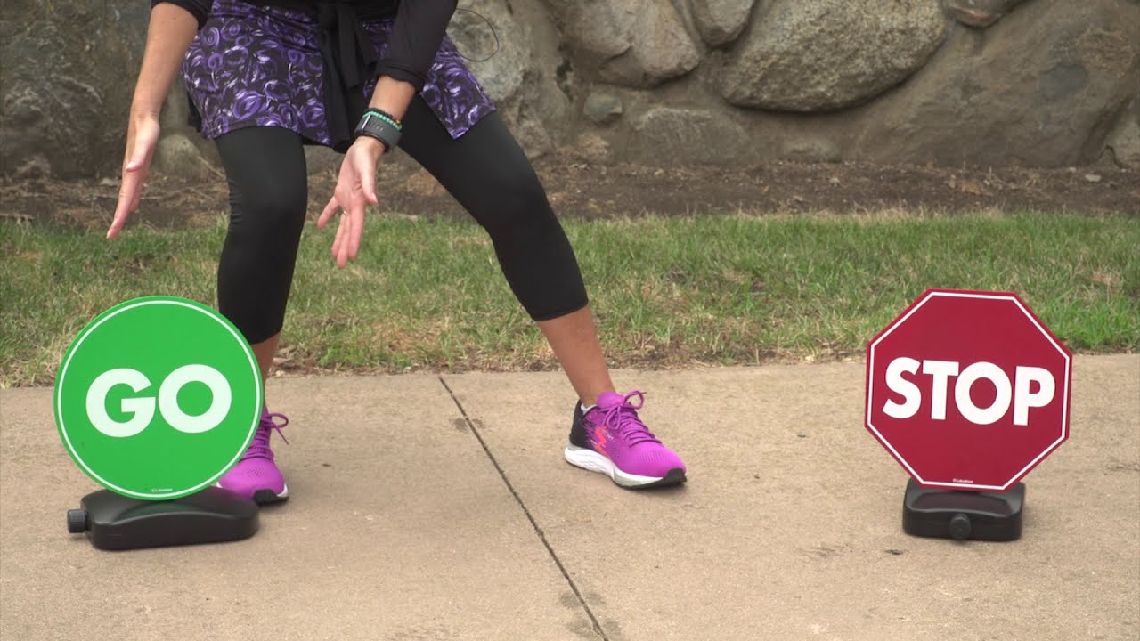 Fun & Fitness with Ms. Kelly: Starting and Sto