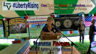 Jeanette Finicum - 4th Annual Flag Day 2nd Amendment Rally