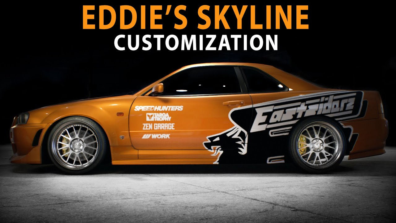 NFS 2015 - Nissan Skyline GT-R (Original EDDIE'S version ...