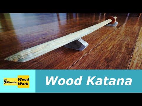 Wood Katana DIY
