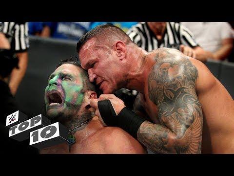 Randy Orton's most sadistic moments: WWE Top 10, July 28, 2018