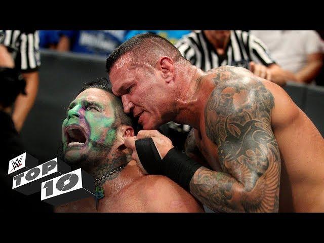 Randy Ortons most sadistic moments: WWE Top 10, July 28, 2018