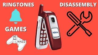 Nokia 6103 Review/Disassembly/Ringtones/Games/Camera/Battery
