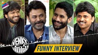 Anil Ravipudi & Shiva Nirvana Funny Interview with Venky Mama Team   Venkatesh   Naga Chaitanya