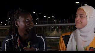 Athletes Reporting Rio edition - Haby Niare &  Hedaya Wahba