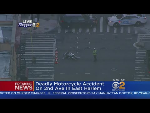 Deadly Motorcycle Crash In East Harlem