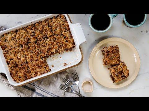 Oatmeal Cake + Caramelized Frosting