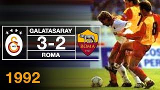 Nostalji Maçlar | Galatasaray 3- 2 Roma ( 09.12.1992 )