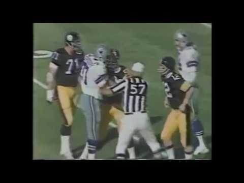 Cowboys Randy White Sacks Steelers Terry Bradshaw In Super Bowl X