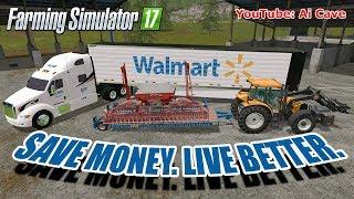 "[""Farming Simulator 17 Mods"", ""Hiring Walmart"", ""Farming Simulator 17"", ""RABE SKE 600"", ""Renault Ares 550 RZ"", ""WALMART PETERBILT"", ""walmart trailersw"", ""walmart mods"", ""walmart"", ""PETERBILT"", ""Ai Cave"", ""FARMING SIMULATOR 2017"", ""FARMING SIMULATOR 2017 M"