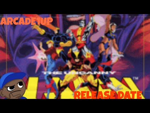 X-Men Release Date Revealed!!! Arcade1Up Announcing Cabs At Too Early O'Clock... from MikeOfAllTrades