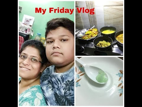 Indian House Wife's Simple Friday Routine with DIY Dark Circles Remove Cream Vlog - Bengali #128
