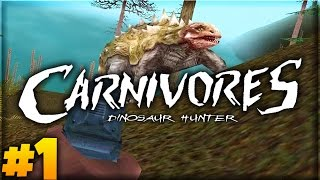 A NEW HUNT BEGINS! | Carnivores: Dinosaur Hunter (Let's Play Part 1)