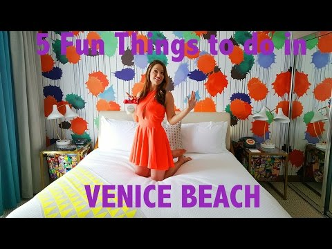 5 FUN Things to do in VENICE BEACH, California: Vacation Travel Guide