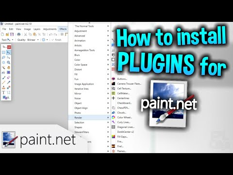 How to Install Plugins for Paint.NET