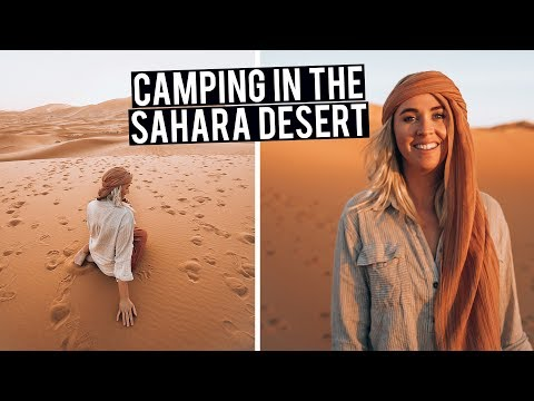 Best Way To Experience The Sahara Desert | Camping In Merzouga, Morocco