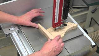 Band Saw Steering Stick - A Safe Way
