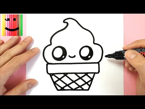 How To Draw A Cute Panda Cupcake Easy Step By Step Youtube
