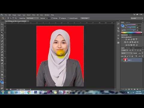TUTORIAL PAS PHOTO PHOTOSHOP CS6 - YouTube