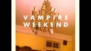 Vampire Weekend - One (Blakes got a New Face)