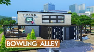 Sims 4   House Building   Bowling Alley