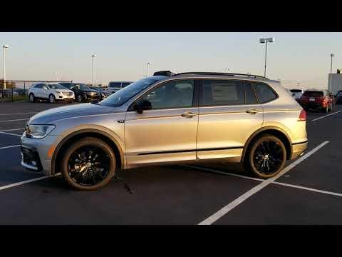 2021 VW Tiguan 2.0T SE R-Line Black Edition 4Motion - YouTube