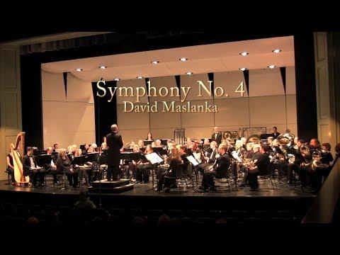 Symphony No. 4 - David Maslanka - Triangle Wind Ensemble
