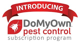 Introducing the DoMyOwn.com Pest Control Subscription Program