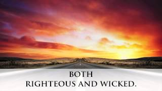 Book Trailer: The Righteous and The Wicked