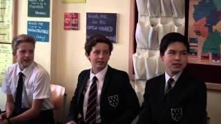 Урок немецкого языка в частной школе Sevenoaks, Великобритания.