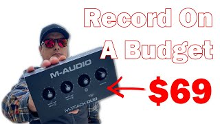 M-Track Duo Review - Best Budget Interface 2021