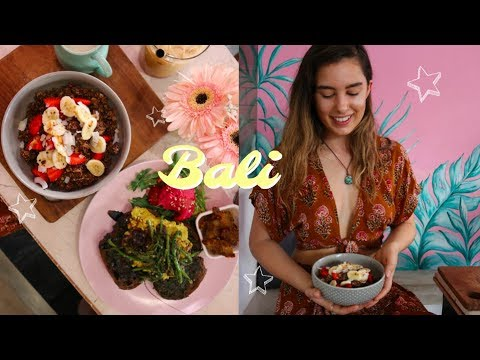 BALI VLOG #2   Vegan Eats & Bali Supermarket Trip