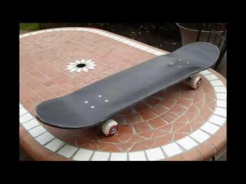 Skateboard Carbone Epoxy