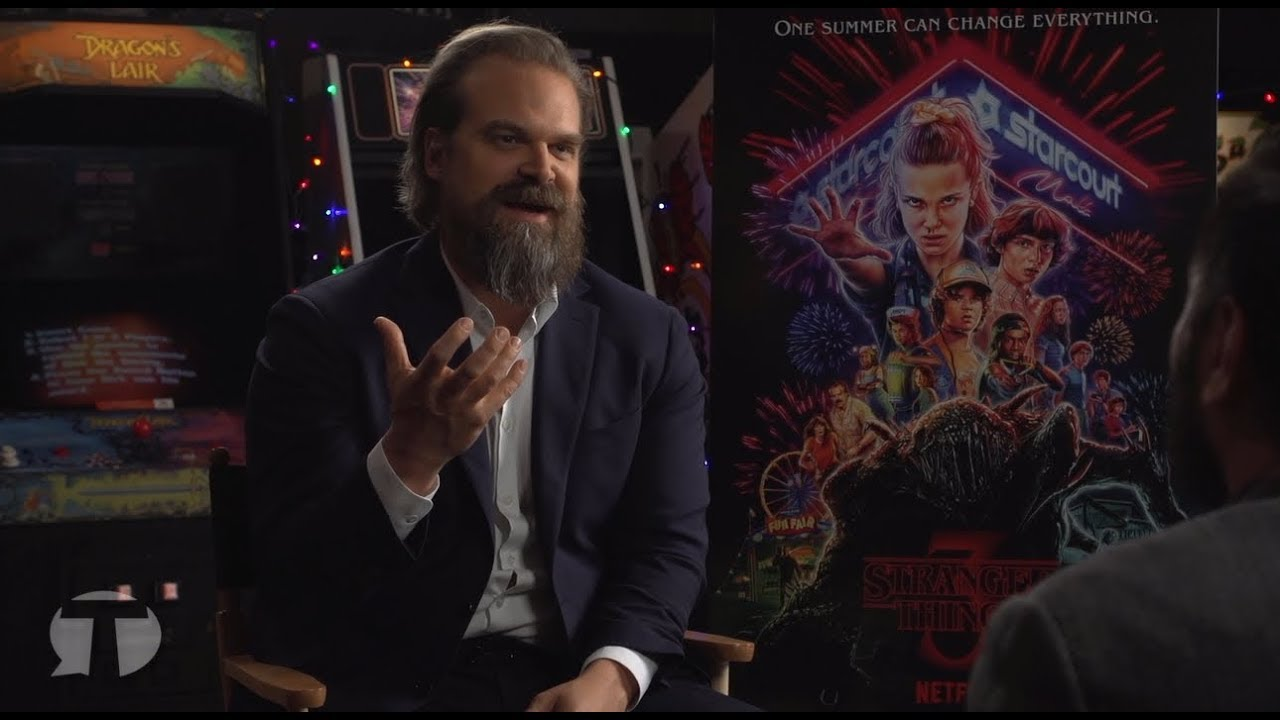 STRANGER THINGS Hopper Interview - David Harbour | La Boutique Stranger Things