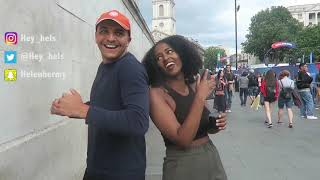 People in London dancing to Habesha music    PART 2  Helen Haile