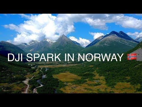 DJI SPARK IN NORWAY - SLOW TV