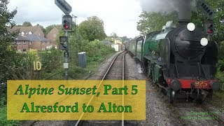 Download Video Alresford to Alton –Hastings DEMU cab ride – 30 September 2017 –audio from back cab MP3 3GP MP4