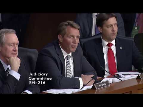 Sen. Flake and Judge Gorsuch on the Separation of Powers