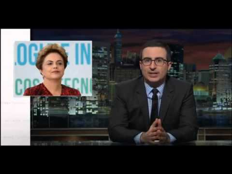 Last Week Tonight With John Oliver - Brazil President Dilma Rousseff Impeachment HBO