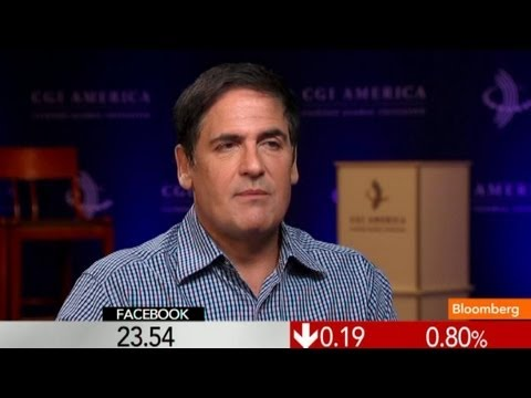 Facebook Made `Strategic Mistake' With IPO, says Mark Cuban