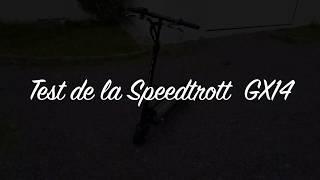 Speedtrott GX14 trottinette électrique étanche ip65