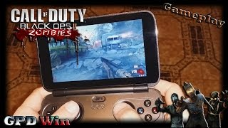 GPD Win (Call Of Duty Black Ops 2 : Zombies) [Gameplay] [Config Gamepad configured] [37fps]