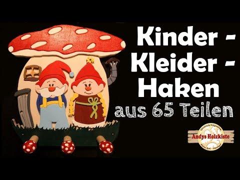 scroll-saw-project-kleiderhaken-selber-machen- -coat-hooks-for-kids- -kinder-garderobe