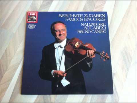 Salvatore Accardo - Famous Encores