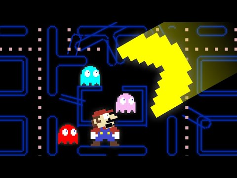 🍄MARIO Bros. PacMan💥- ‼️Mayhem‼️ [Mario Cartoon Animation]