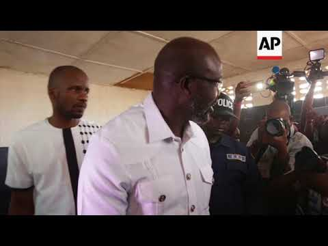 Football star Weah poised to win Liberia's presidency